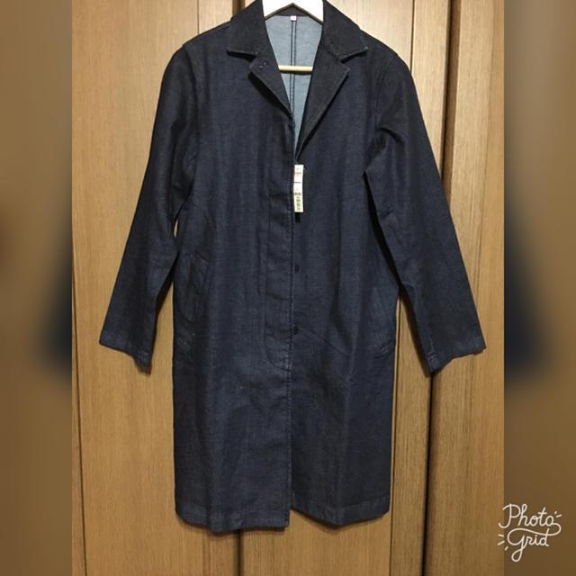 重たい冬コートを脱いで軽快に♪無印のデニムジャケット大人カジュアルコーデ☆ | folk