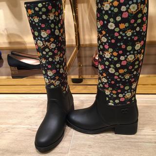 トリーバーチ(Tory Burch)の新品 トリーバーチ レインブーツ 24センチ(レインブーツ/長靴)