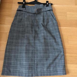 ハニーズ(HONEYS)のグレンチェック スカート(ひざ丈スカート)