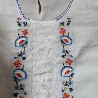 ギャップ(GAP)のGAP 刺繍シャツ(シャツ/ブラウス(半袖/袖なし))