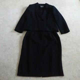 シマムラ(しまむら)の*ミント様専用*【大きいサイズ】21号☆ブラックフォーマル 3点セット☆(礼服/喪服)