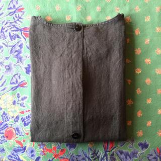 ムジルシリョウヒン(MUJI (無印良品))の無印/割烹着 墨黒(収納/キッチン雑貨)