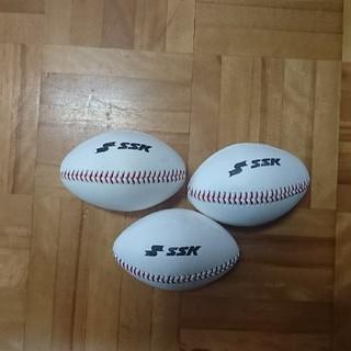 エスエスケイ(SSK)のSSKトレーニングボール3個(ボール)