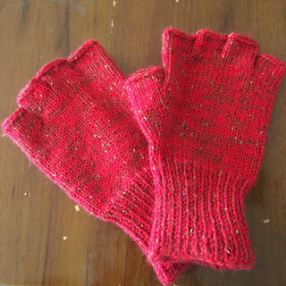 指ぬき手袋(手袋)
