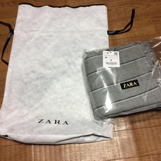 ザラ(ZARA)のザラ ZARA マフラー メンズ プレゼント包装済み(マフラー)