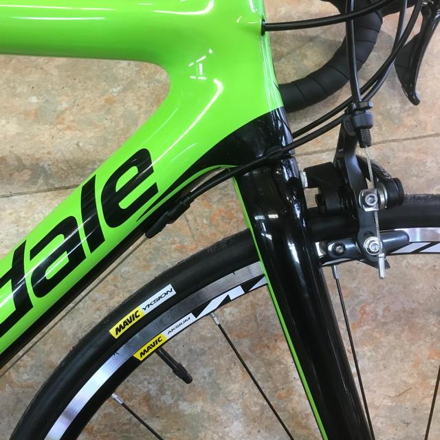 Cannondale(キャノンデール)の2018モデル キャノンデール SUPER SIX EVOcarbonアルテグラ スポーツ/アウトドアの自転車(自転車本体)の商品写真