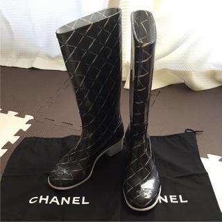 シャネル(CHANEL)のエミハイさまご専用です(レインブーツ/長靴)
