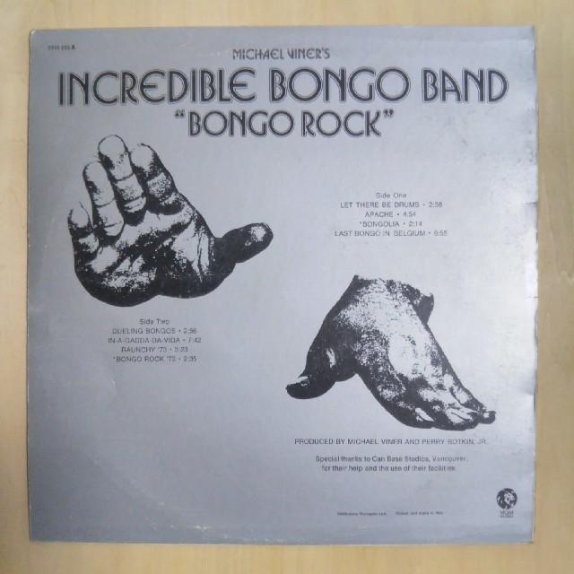 INCREDIBLE BONGO BAND エンタメ/ホビーのCD(R&B/ソウル)の商品写真
