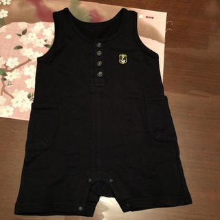 ベルメゾン(ベルメゾン)のフォーマル ロンパース 黒 90cm(ドレス/フォーマル)
