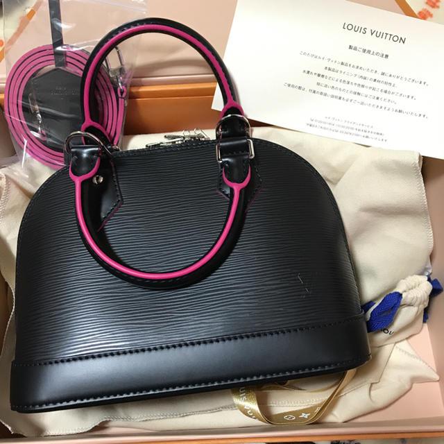 a5fa91913ffb LOUIS VUITTON - 新品‼ 限定カラー アルマbb ブラック ピンク ノワール ...