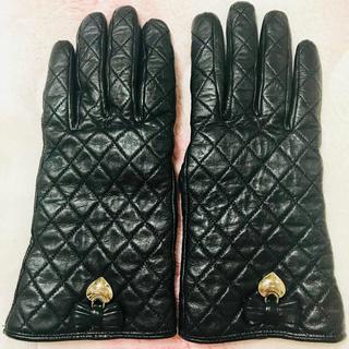 コーチ(COACH)のCOACH コーチ 手袋 レザー キルティング(手袋)