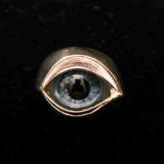 ネクロマンス US8 義眼リング ブルーアイ necromance(リング(指輪))