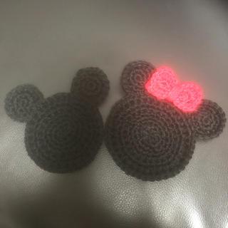Disney - ディズニー アクリルたわし コースター