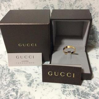 グッチ(Gucci)の正規品/美品/GUCCI/ICON RING/K18/#20/¥97,200(リング(指輪))