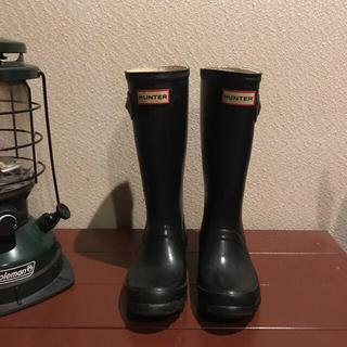 ハンター(HUNTER)のHUNTER キッズレインブーツ19cm(長靴/レインシューズ)