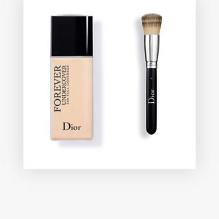 ディオール(Dior)のDior 2018SS ブラシ&リキッドファンデーション セット(その他)