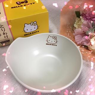 ハローキティ(ハローキティ)の【非売品】キティちゃん/ 小鉢、 とりわけ皿、白色 (食器)