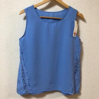 ジーユー(GU)の本日価格‼︎GU♡レースタンクトップ(シャツ/ブラウス(半袖/袖なし))