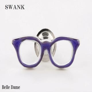 スワンク(swank)のスワンク 紫色メガネのピンズ SWANK ラベルピン メール便♪ (その他)