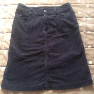 プーラフリーム(pour la frime)のプーラフリーム♡コーディロイスカート(ひざ丈スカート)