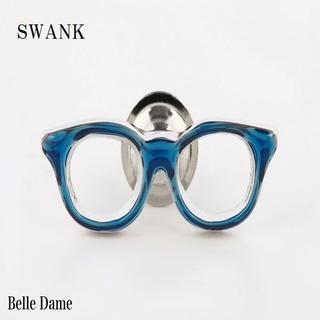 スワンク(swank)のスワンク 青色メガネのピンズ SWANK ラベルピン メール便♪ (その他)