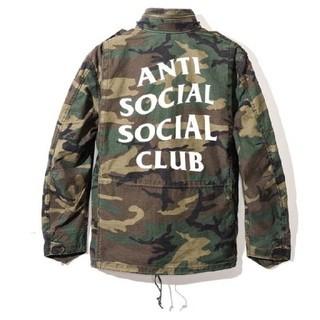 アンチ(ANTI)のanti social social club defender jacket(ミリタリージャケット)