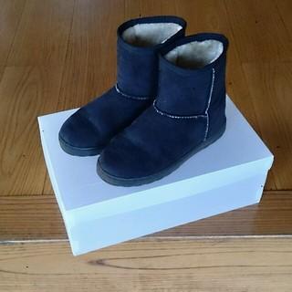 ムジルシリョウヒン(MUJI (無印良品))のボアブーツ(ムートン風ブーツ)(ブーツ)