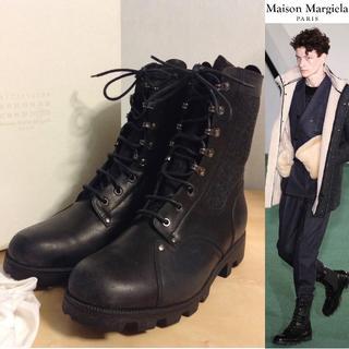 マルタンマルジェラ(Maison Martin Margiela)の新品未使用■マルジェラ■デストロイ加工コンバットブーツ■2954(ブーツ)