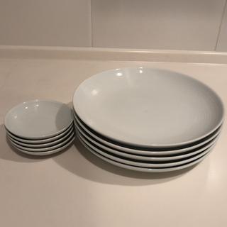 無印良品 耐熱皿 オーバル型 白 二枚セット