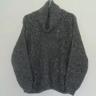 グリーンレーベルリラクシング(green label relaxing)のグリーンレーベル 編模様ざっくりセーター(ニット/セーター)