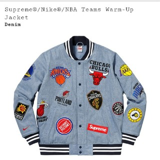 シュプリーム(Supreme)のSupreme NBA NIKE Teams Warm-Up Jacket (ブルゾン)