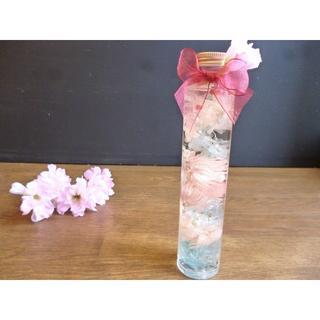 スプリングハーバリウム ー桜ブルー(その他)