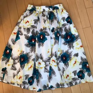 シマムラ(しまむら)のしまむら 花柄スカート(ひざ丈スカート)