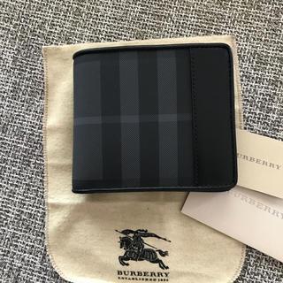 バーバリー(BURBERRY)のBURBERRY バーバリー 新品 正規品 2つ折り メンズ 財布(折り財布)