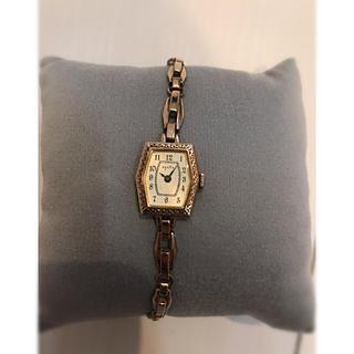 アガット(agete)のagate ピンクゴールド 腕時計(腕時計)