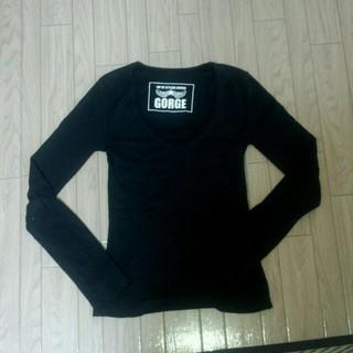 ゴージ(GORGE)の黒 ロンT(Tシャツ(長袖/七分))