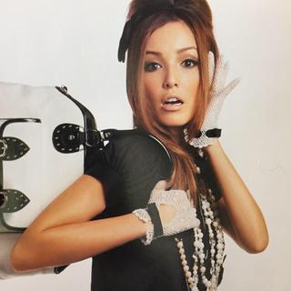 バービー(Barbie)のバービー♡梨花着用リボンレースグローブ♡新品(手袋)
