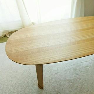 ムジルシリョウヒン(MUJI (無印良品))の直接引取・無印良品・ちゃぶ台・テーブル(ローテーブル)