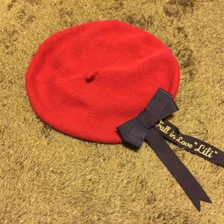 フィント(F i.n.t)のFi.n.t リボン付きベレー(ハンチング/ベレー帽)