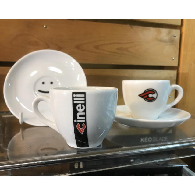 CINELLI チネリ エスプレッソカップセット スポーツ/アウトドアの自転車(その他)の商品写真