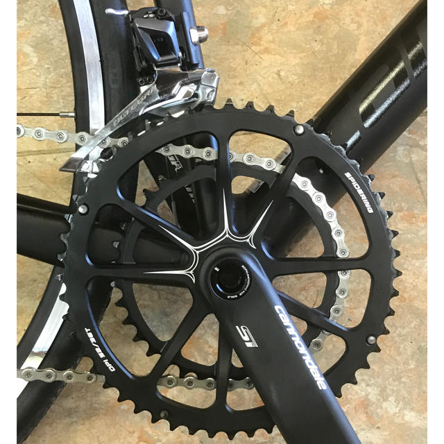 Cannondale(キャノンデール)の2018CANNONDARE【CAAD12 アルテグラ】50サイズ ロードバイク スポーツ/アウトドアの自転車(自転車本体)の商品写真