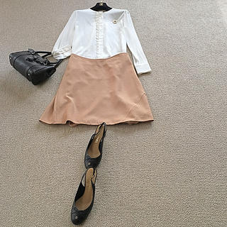 アニオナ(Agnona)のアニオナのラグジュアリーでとても素敵なスカート(ひざ丈スカート)