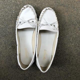 ローファー 白(ローファー/革靴)
