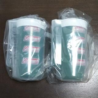 コールマン(Coleman)の新品★コールマン★オリジナルプラカップ4個組×2セット(グラス/カップ)