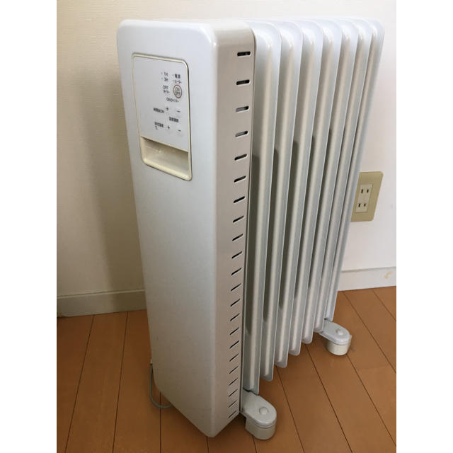 MUJI (無印良品)(ムジルシリョウヒン)の無印良品 オイルヒーター スマホ/家電/カメラの冷暖房/空調(オイルヒーター)の商品写真