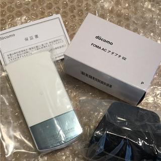 エヌティティドコモ(NTTdocomo)の専用!ガラケーdocomo N-01G ホワイト 新品未使用品(携帯電話本体)