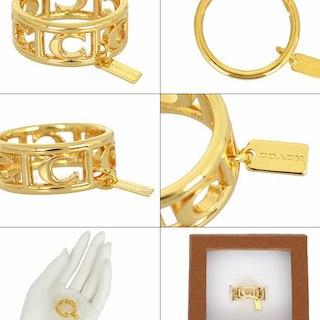 d92a3f555477 COACH - コーチ指輪 12号の通販 by パッタヌ's shop|コーチならラクマ