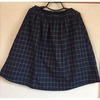 グリーンパークス(green parks)のひざ丈スカート☆グリーンパークス☆未使用品(ひざ丈スカート)
