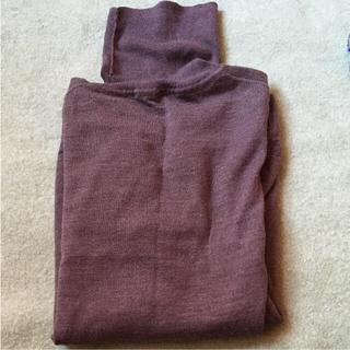 ムジルシリョウヒン(MUJI (無印良品))の無印良品  タートル モカブラウン(ニット/セーター)