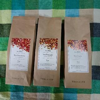 ティートリコ TEAtrico 50gサイズ色々3点セット 食べれる紅茶(茶)